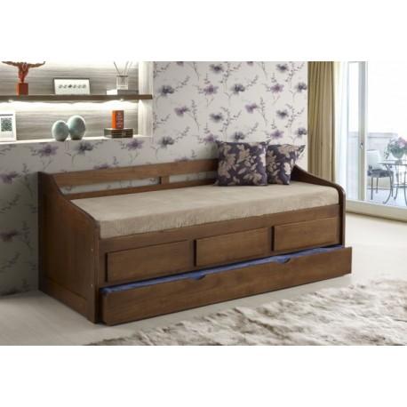 Sof cama campestre for Sofa cama armario