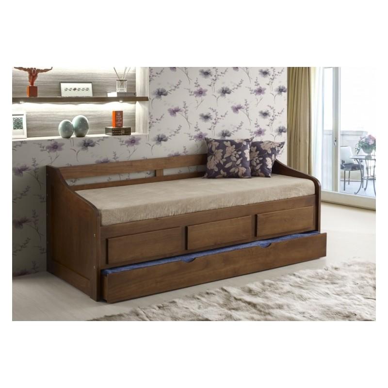 Sof cama campestre - Sofa cama estilo nordico ...
