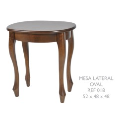 Mesa Lateral Oval Ref. 018