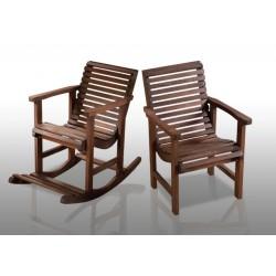 Cadeira de Balanço e Poltrona Garden
