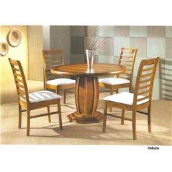 Mesa de Jantar Uriel Barrica com 04 Cadeiras