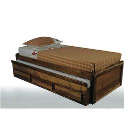 BICAMA BOX TURCA C/ 3 GAVETAS